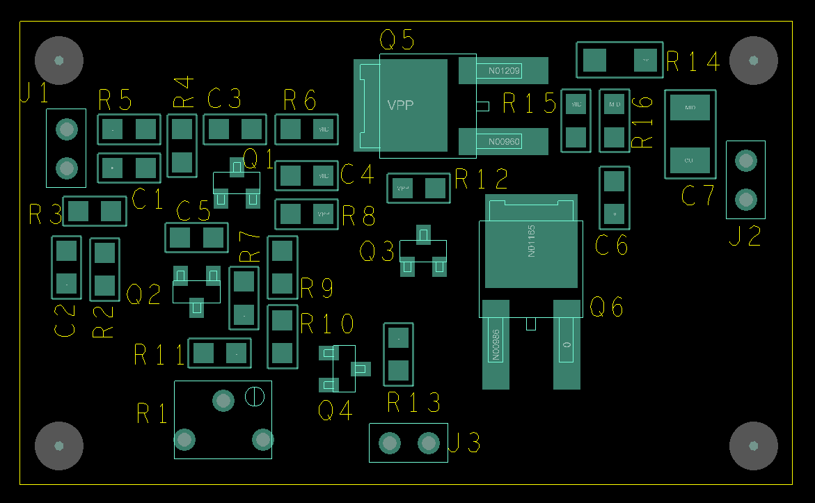 Orcad Tutorial Physical Layout Parallel Systems Once Finished It Might Look Similar To The Setup Below Pcb Above Do This Use Setupgrids Choose An Appropriate Non Etch Placement And Routing Grid A Suggested One Is Shown