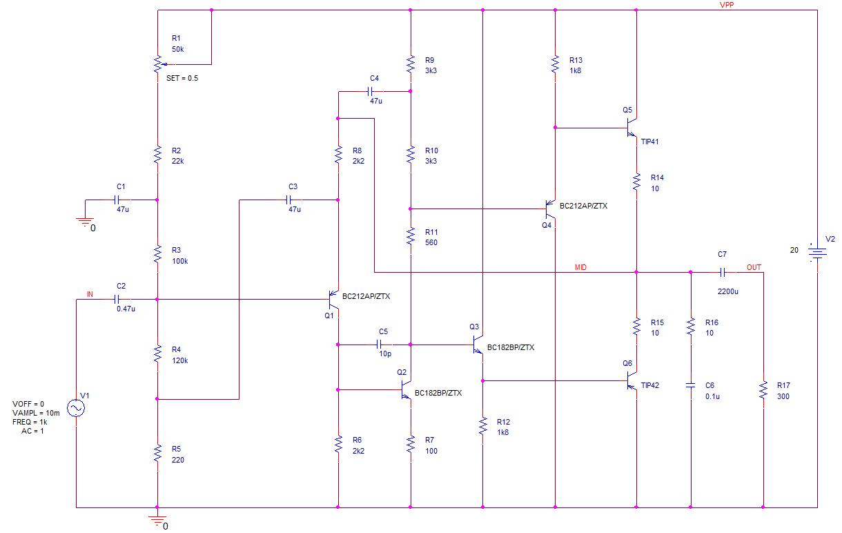 Completed Schematic